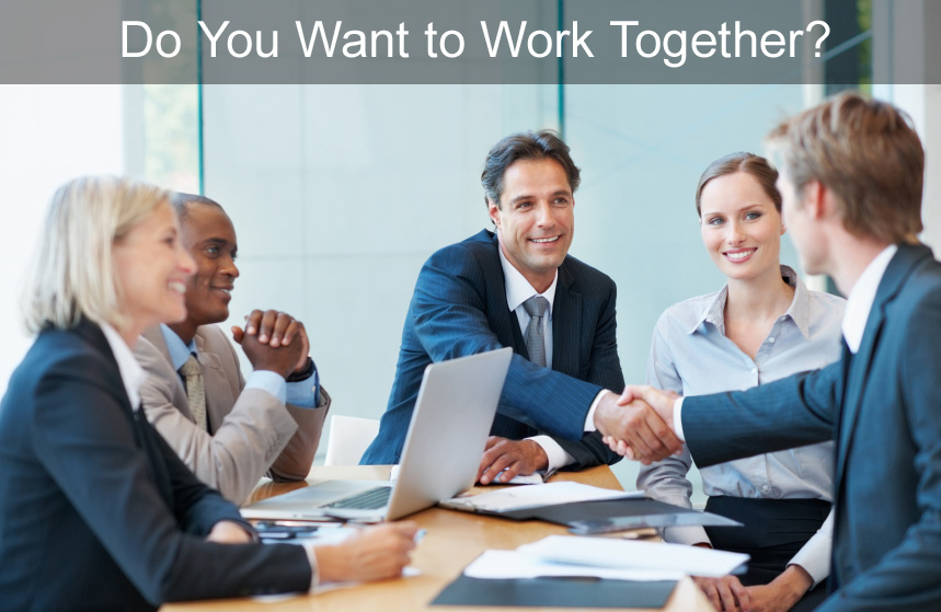Do you want to work together?